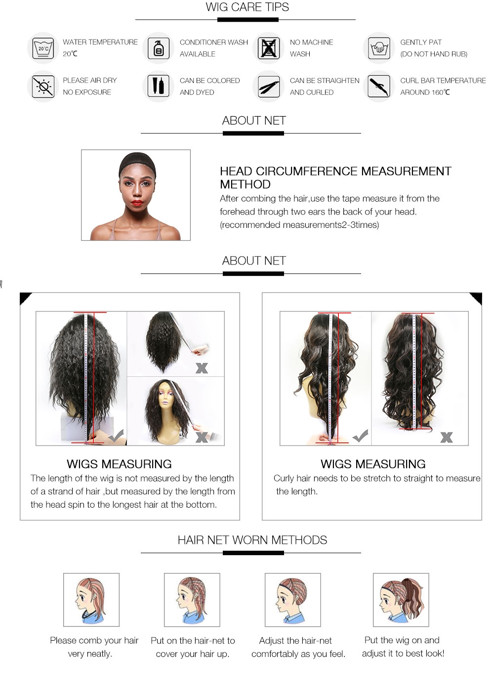 AfricanMall Latest Fabulous Lace Front Wigs Care Tips